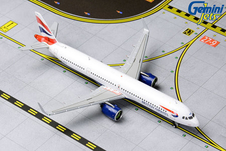 British Airways - Airbus A321neo (GeminiJets 1:400)