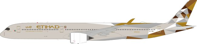 Etihad Airways - Airbus A350-1041 (Aviation400 1:400)