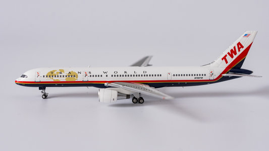 Trans World Airlines - TWA - Boeing 757-200 (NG Models 1:400)