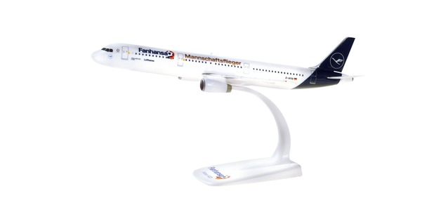 Lufthansa - Airbus A321 (Herpa Snap-Fit 1:200)