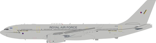 RAF Royal Air Force - Airbus A330 Voyager KC3 (A330-243MRTT) (Aviation400 1:400)