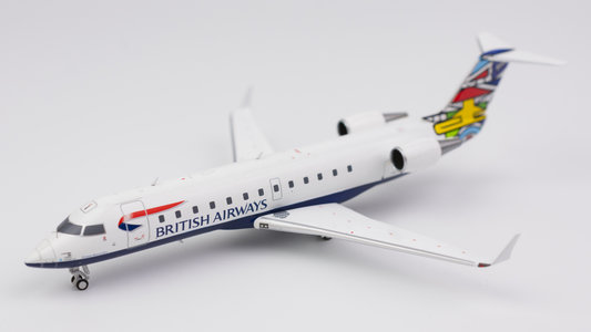 British Airways - Bombardier CRJ-200LR (NG Models 1:200)
