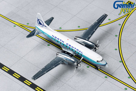 North Central Airlines - Convair CV-580 (GeminiJets 1:400)