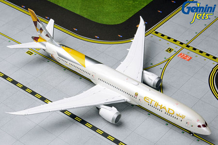Etihad Airways - Boeing 787-10 Dreamliner (GeminiJets 1:400)