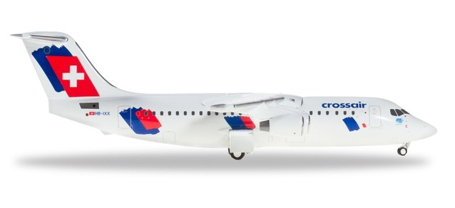 Crossair - Avro RJ100 (Herpa Wings 1:200)