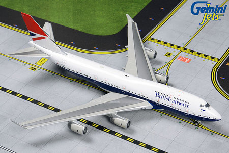 British Airways - Boeing 747-400 (GeminiJets 1:400)