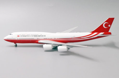 Turkey Government - Boeing 747-8i (JC Wings 1:400)