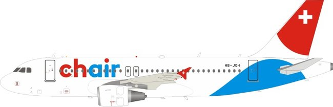 Chair Airlines - Airbus A319-112 (JFox 1:200)