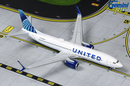 United Airlines - Boeing 737-800 (GeminiJets 1:400)