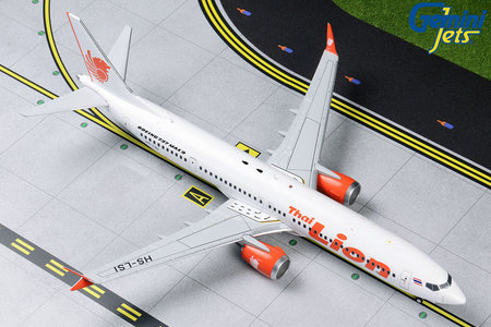 Thai Lion Air - Boeing 737 MAX 9 (GeminiJets 1:200)