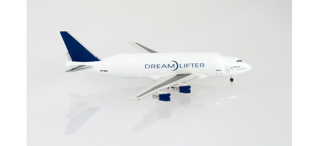 Boeing fleet - Boeing 747LCF (Herpa Wings 1:500)