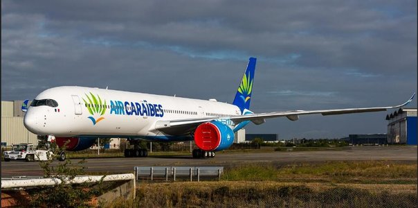 Caribbean Airlines - Airbus A350-1000 (Aviation400 1:400)