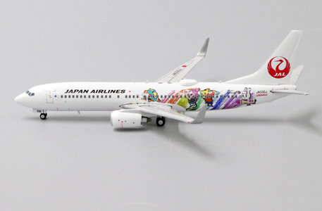Japan Airlines - Boeing 737-800 (JC Wings 1:400)