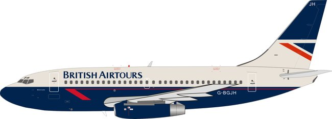 British Airtours - Boeing 737-200 (B Models 1:200)