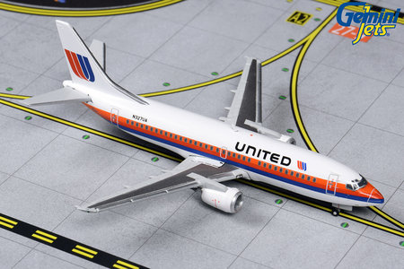 United Airlines - Boeing 737-300 (GeminiJets 1:400)