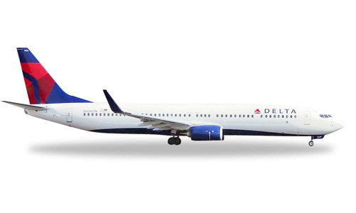 Delta Air Lines - Boeing 737-900ER (Herpa Wings 1:500)
