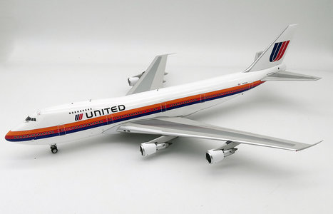 United Airlines - Boeing 747-100 (Inflight200 1:200)