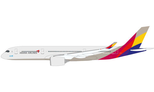Asiana Airlines - Airbus A350-900 (Herpa Snap-Fit 1:200)
