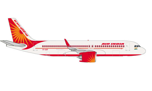 Air India - Airbus A320neo (Herpa Wings 1:500)