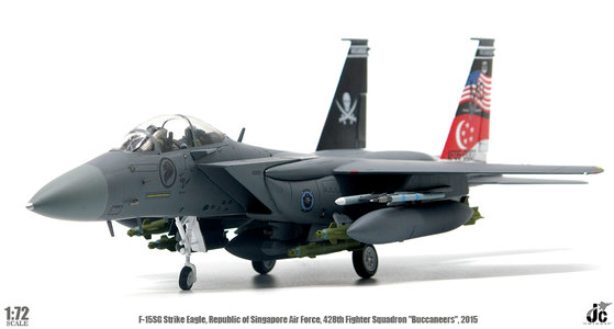 Republic of Singapore Air Force - F-15SG Strike Eagle (JC Wings 1:72)