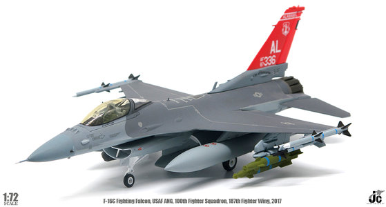 USAF ANG - F-16C Fighting Falcon (JC Wings 1:72)