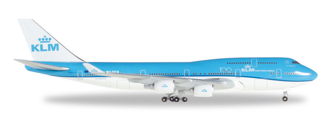 KLM - Boeing 747-400 (Herpa Wings 1:500)