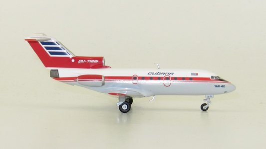 Cubana de Aviacion - Yakovlev Yak-40 (Herpa Wings 1:200)