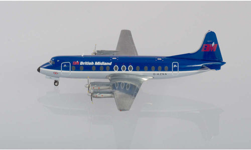 British Midlands - Vickers Viscount 800 (Herpa Wings 1:200)