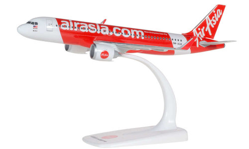 Air Asia - Airbus A320neo (Herpa Snap-Fit 1:200)