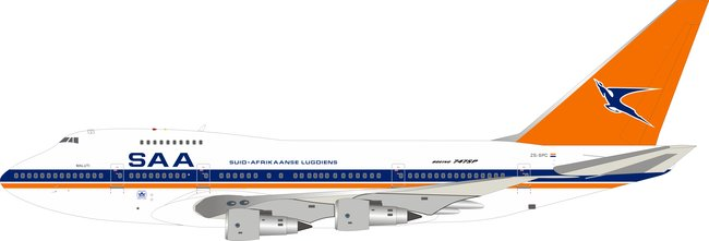 South African Airways - Boeing 747SP (Inflight200 1:200)