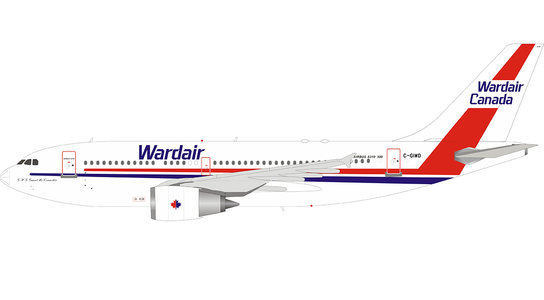 Wardair Canada - Airbus A310-304 (Inflight200 1:200)