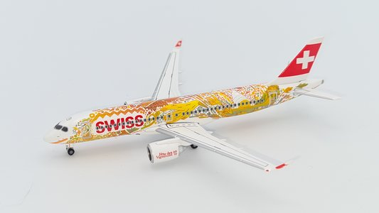 Swiss International Airlines - Airbus A220-300 (Herpa Wings 1:400)