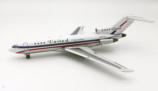 United Airlines - Boeing 727-100 (Inflight200 1:200)