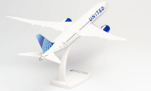 United Airlines - Boeing 787-9 (Herpa Snap-Fit 1:200)