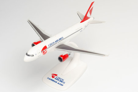 CSA Czech Airlines - Airbus A320 (Herpa Snap-Fit 1:200)