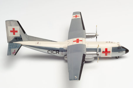 Balair / International Red Cross - Transall C-160 (Herpa Wings 1:200)