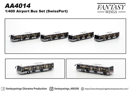 Swissport - Airport Bus (Fantasy Wings 1:400)