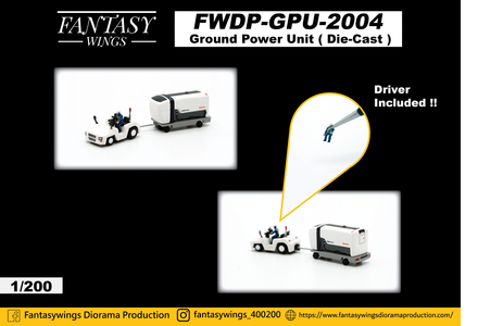 - Ground Power Unit Set (Fantasy Wings 1:200)