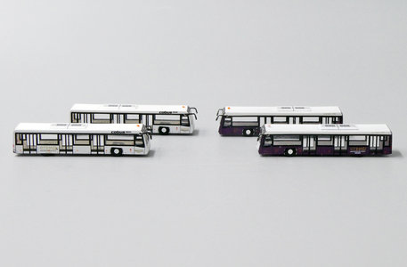 Airport Bus 4x - Etihad (Fantasy Wings 1:400)