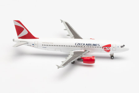 CSA Czech Airlines - Airbus A320 (Herpa Wings 1:500)