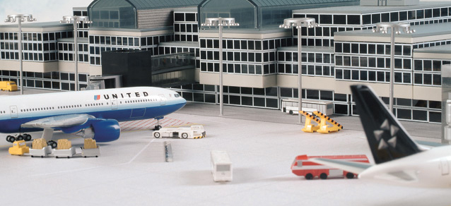 Scenix - Airport basic set 1 (Herpa Wings 1:500)