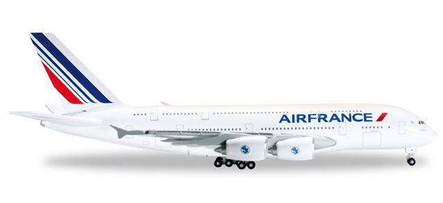 Air France - Airbus A380-800 (Herpa Wings 1:500)