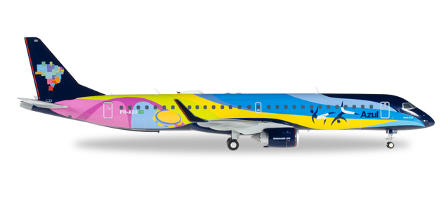 Azul Brazilian Airlines - Embraer E195 (Herpa Wings 1:200)