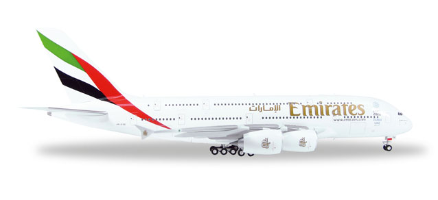 Emirates - Airbus A380-800 (Herpa Wings 1:200)