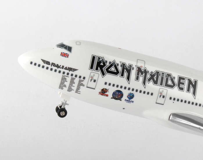 Skymarks Wings Iron Maiden Boeing 747-400 SKR899