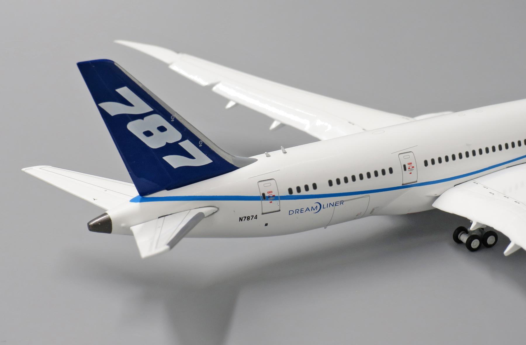 JC Wings LH4057 Boeing 787-8 House Colors /'N7874/' 1//400 Scale Diecast Model