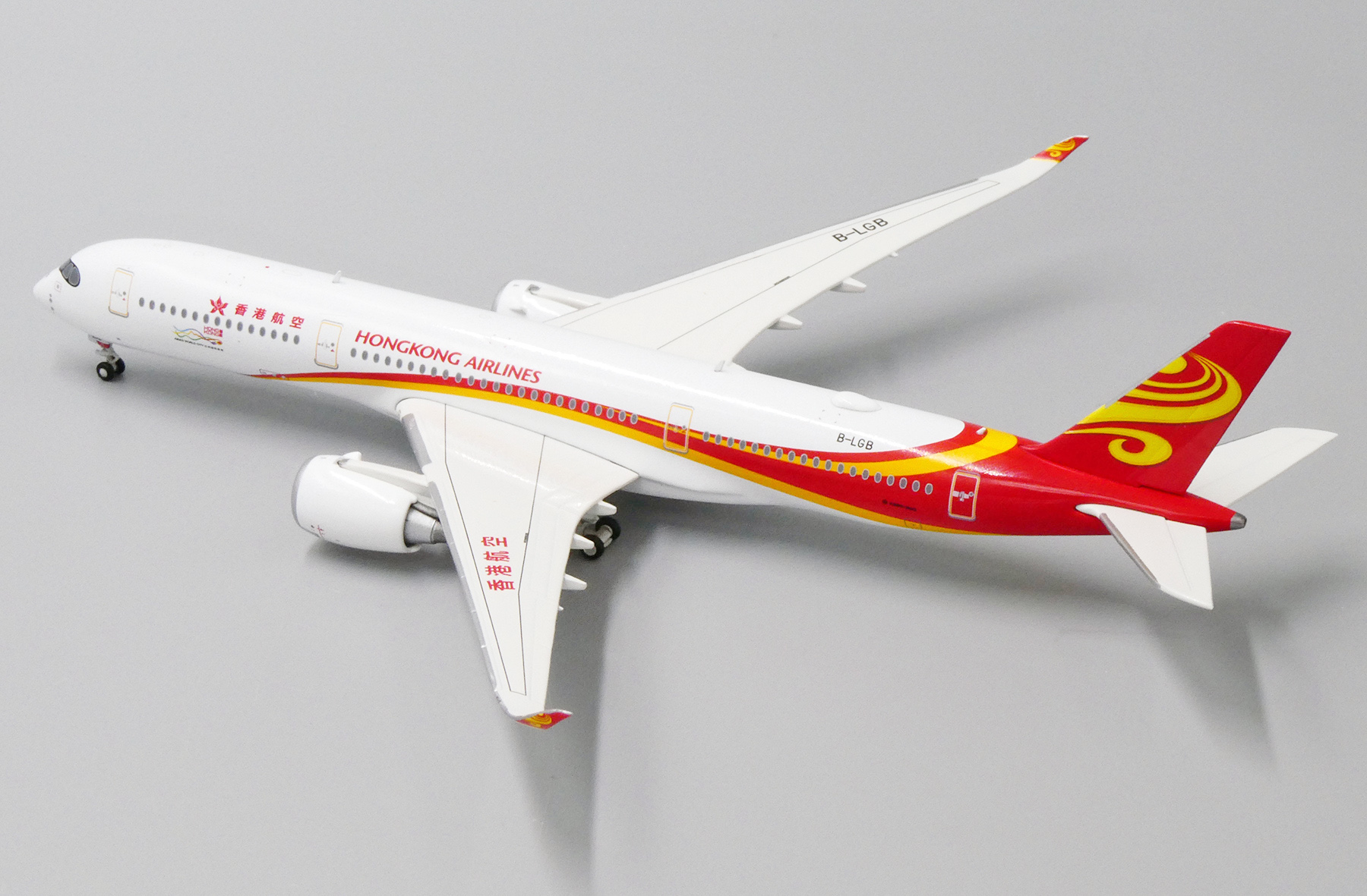 TBA WITH ANTENNA JC WINGS LH4116 1//400 HAINAN AIRLINES AIRBUS A350-900XWB REG