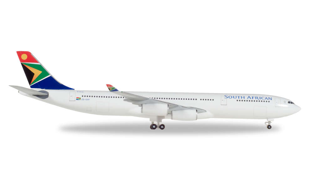 /ZS//SXF Mandela Day Herpa 530712/South African Airways Airbus A340/300/
