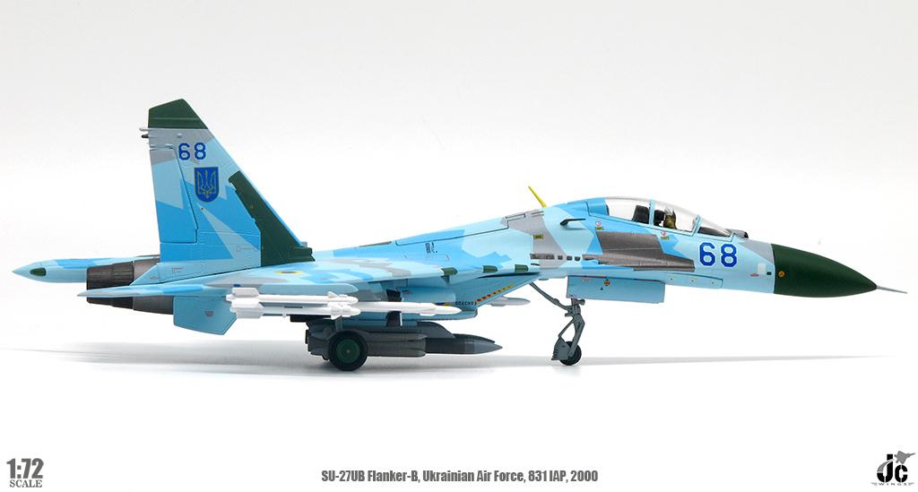 JC WINGS 1//72 JCW-72-SU27-009 Flanker SU-27 SU27UB Ukrainian Air Force