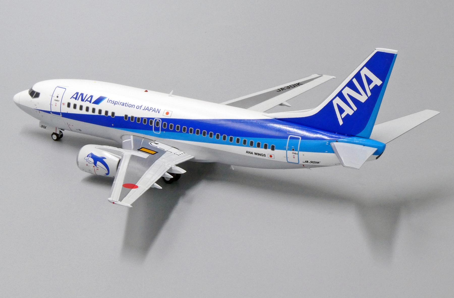 Scalemodelstore Com Jc Wings 1 200 Ew2735001 Ana Wings Boeing 737 500